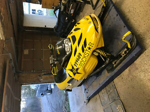 Mxz 440x race sled