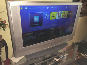 "50"" Sony WEGA LCD TV with TV Stand"