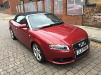 2007 Audi A4 Cabriolet 2.0 TDI S Line 2d p/x welcome