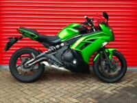 2013 KAWASAKI EX 650 ECF ER-6F GREEN P/X WELCOME DELIVERY AVAILABLE FULL HISTORY
