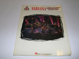 Nirvana - Unplugged in New York (1995) - Partitions de musique