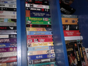 VHS tapes and sets  The Waltons ,Gunsmoke,the Outer Limits