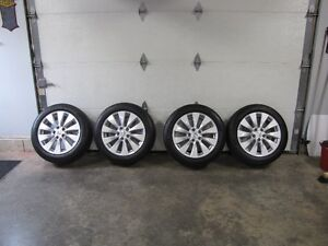 2013-15 Honda Accord OEM alloy Rims and Michelin Tires