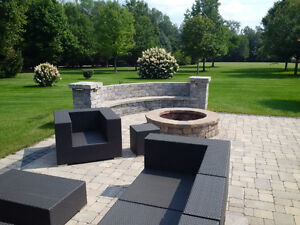 Outdoor kitchens/sidewalks & Fire pits London Ontario image 2