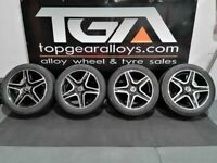 "20"" GENUINE OEM MERCEDES GLE ALLOY WHEELS & TYRES A1664012002"