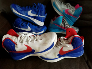 Nike Hyperfuse 3 paires  sz:12