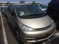2005/05 TOYOTA ESTIMA BEIGE COLOR 7 SEATS FRONT AND REAR VIEW CAMERA