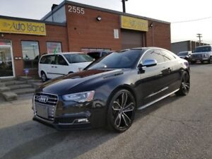 2013 Audi S5 COUPE AUTOMATIC FAST CAR! AFTERMARKET RIMS 108KM'S