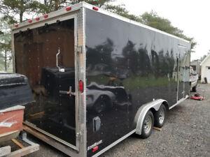 20'enclosed car trailer