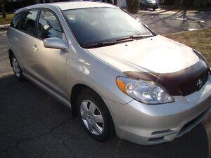 2003 Toyota Matrix XR manuelle en très bonne condition