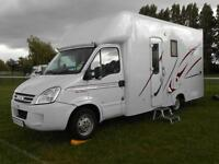 IVECO Daily 35S 12 MWB 4 Berth Motorhome with Huge Rear Garage