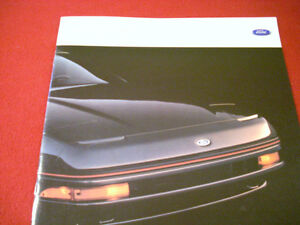 1989 Ford Probe sales brochure