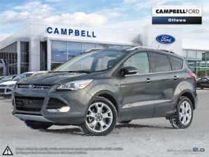 2016 Ford Escape Titanium LEATHER-NAV-POWER ROOF-AWD-LOW KMS