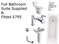 Full Bathroom Supply and Installation