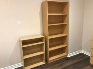 IKEA Billy Bookcases - 2 pcs.