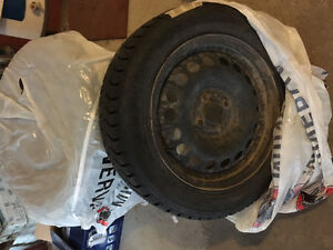 Winter tires on Toyota rims 185 60R15