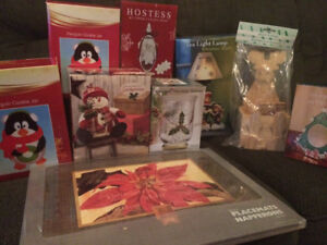 Christmas Items - New in their Boxes
