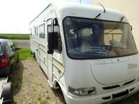Machzone 2 Berth A-Class Fixed Bed Solar Panel Motorhome For Sale Ref 13638