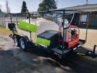 Power washer unit hot/cold  mobile washing