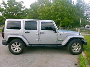 2015 jeep Wrangler Sahara Unlimited