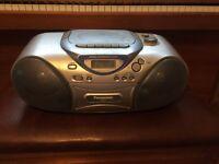 Panasonic RX-D21E-S Cassette CD Stereo Recorder Player