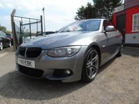 2011 BMW 3 Series 325d M Sport 2dr Step Auto, FSH,2 keys,12 months mot,Warran...