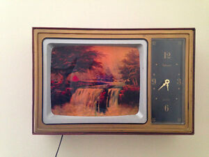 Waterfalls Vintage Art TV Niagara...Don't know what to call this
