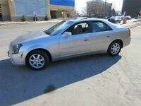 2006 Cadillac CTS Auto, Leather, Sunroof, CD, Certifie Sedan