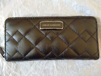 Brand new: Marc Jacobs quilted leather zip around wallet