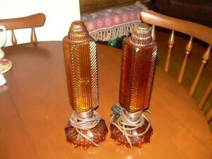Antique vanity lamps