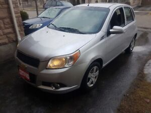 CERTIFIED $3799 2011 Chevy Aveo CLEAN ONLY 115 kms