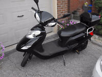 Easy Ryder 2 60V Electric Scooter E-bike 2 Person Seater Black
