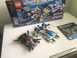 Lego Space Police Hyperspeed Pursuit