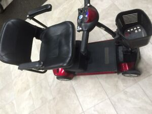Go Go travel elite Scooter RED COLOR. The scooter allowed to go