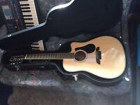 Alvarez AD60-12CE 12-string acoustic guitar
