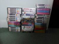 Video - box of various titles FREE to collect