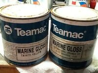Yacht or boat, other painting project , marine gloss paints