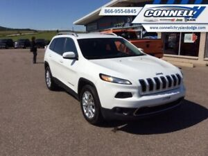 2016 Jeep Cherokee Limited  - Leather Seats -  Bluetooth - $152