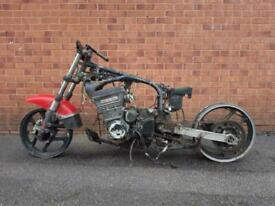 1985 Kawasaki GPZ 750 Barn Find Spares or Repairs Motorcycle HPI Clear