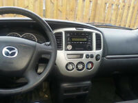 2003 Mazda Tribute DX VUS 144k MANUEL