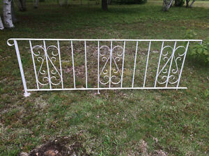 8 Feet Wrought Iron Railing