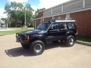 1999 Jeep Cherokee Sport Overland Off-road Lifted SUV, Crossover