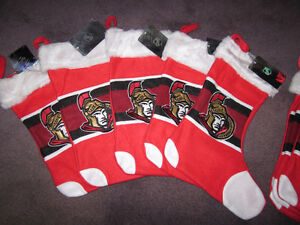 Christmas Stockings - Ottawa Senators - official NHL.com, NEW Kitchener / Waterloo Kitchener Area image 1