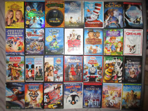 FAMILY/CHILDRENS DVDS EXCELLENT CONDITION