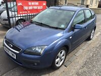 FORD FOCUS ZETEC CLIMATE 1.6 (05) 1 YEAR MOT, FULL SERVICE HISTORY , WARRANTY £1395