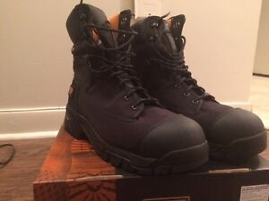 """NEW Timberland pro 8"""" safety work boots size 12"""