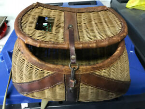 VINTAGE 1940s FLY FISHING CREEL MADE IN BRITISH HONG KONG