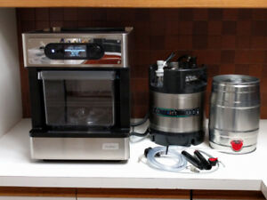 Pico S from PicoBrew – automated beer making appliance.