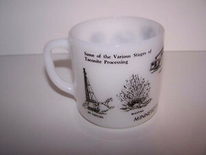 Federal Glass coffee mug Minnesota Taconite Country Processing London Ontario image 1