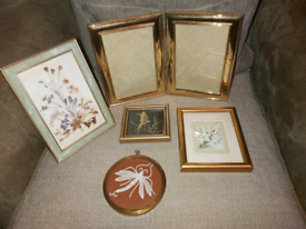 Vintage brass frames hand crafted items
